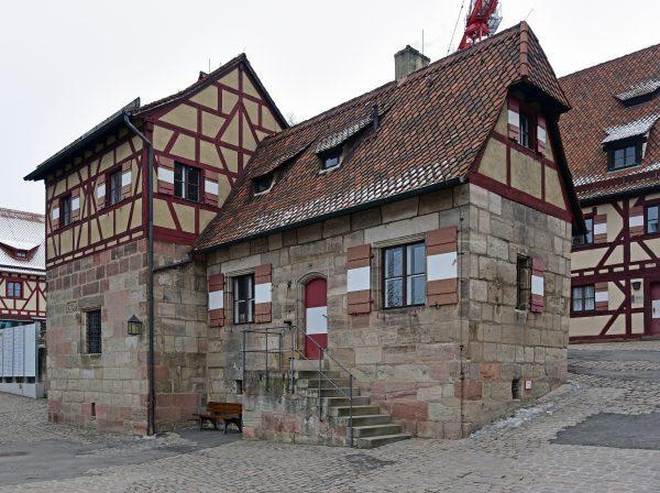 Außengebäude der Kaiserburg Nürnberg