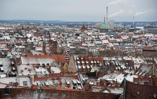 Blick auf Nürnberg von der Kaiserburg