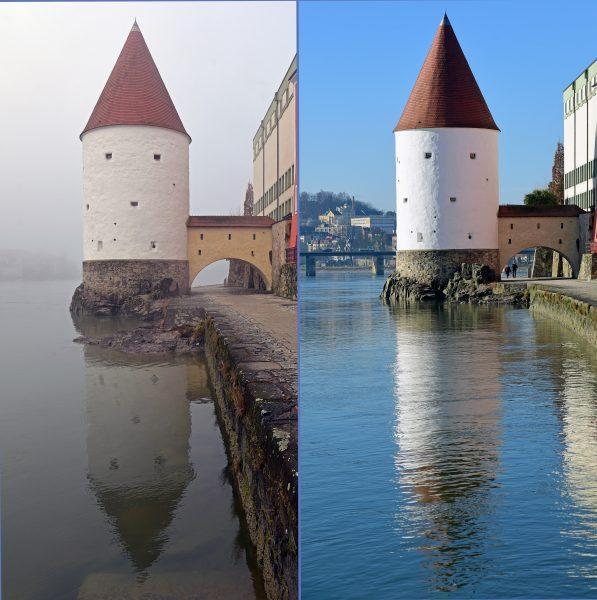 Der Schaiblingsturm in Passau