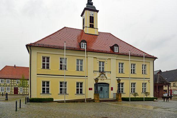Das Rathaus von Angermünde / Uckermark