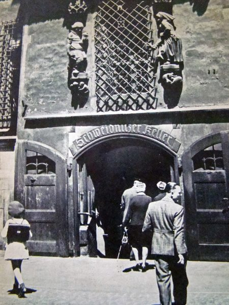 Der Schweidnitzer Keller in Breslau (vor dem Krieg)