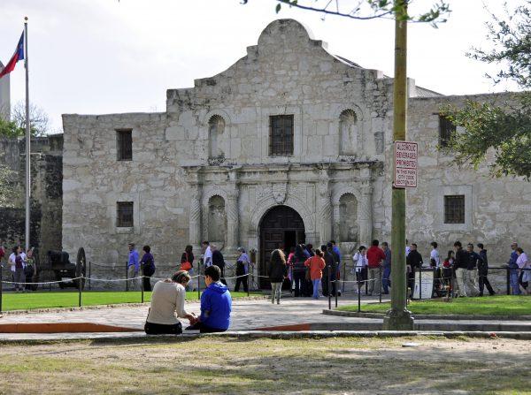 Fort Alamo in San Antonio
