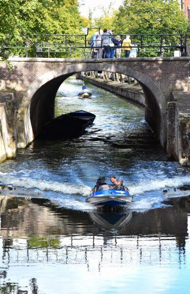 Ein Kanal in Edam