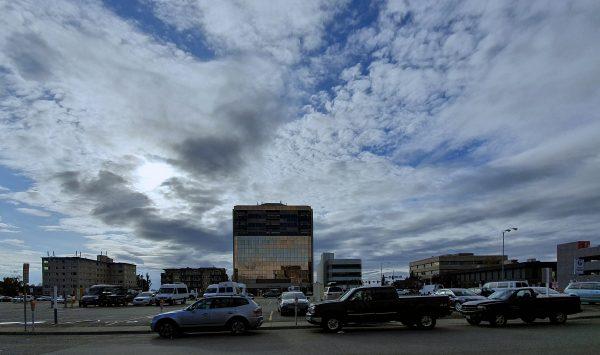 Der Himmel über Anchorage
