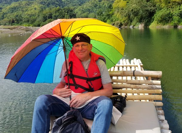 Zinni auf Rafting-Tour auf dem River Rio Grande / Jamaika
