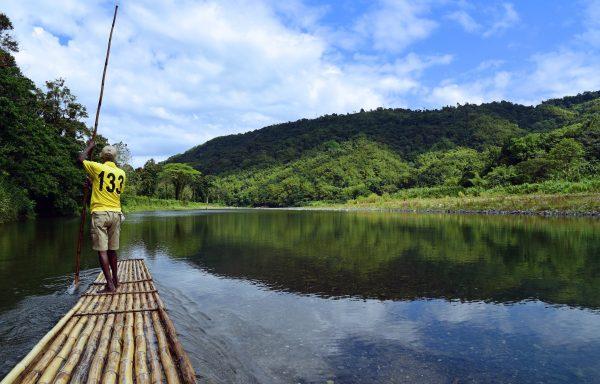Rafting-Tour auf dem River Rio Grande / Jamaika