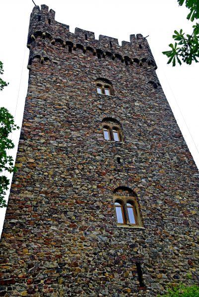 Die Burg Klopp in Bingen