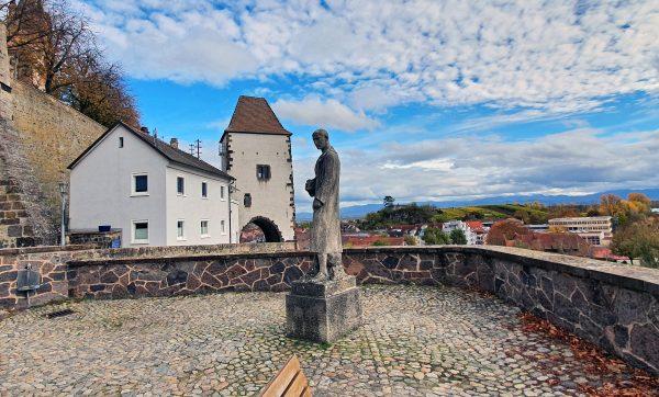Das Ehrenmal für die Gefallenen, Kriegsopfer und Heimkehrer in Breisach