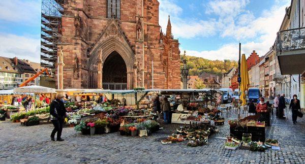 Der Münstermarkt in Freiburg