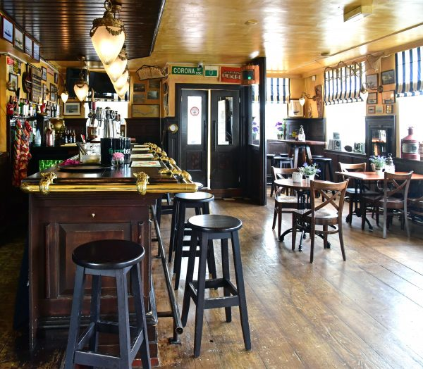 Das Café 't Veerhuis in Bruinisse
