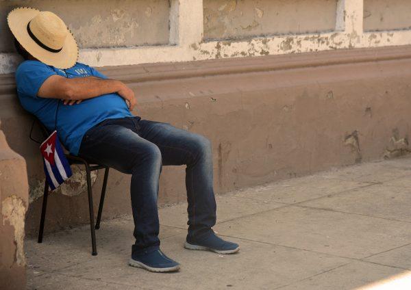 Siesta in Cienfuegos