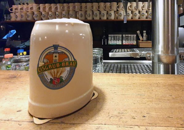 Mein Bier in der Eisgrub-Brauerei in Mainz