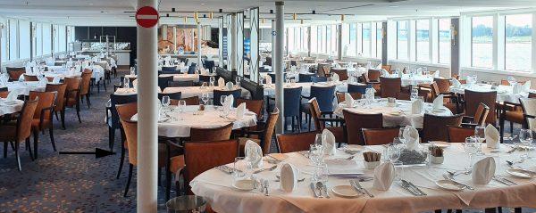 Das Restaurant auf der MS Lady Diletta