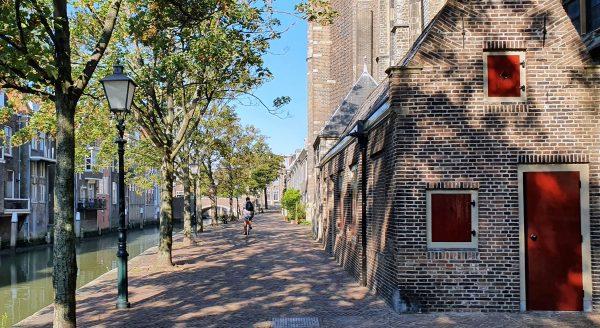 In der Innenstadt von Dordrecht