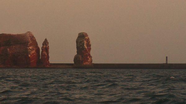 Die 'Lange Anna' auf Helgoland