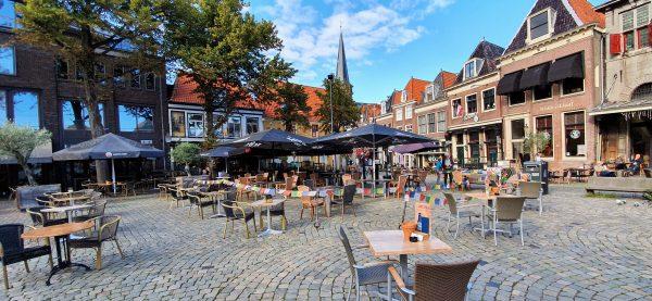 In der Innenstadt von Hoorn