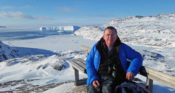 Zinni und der Eis-Fjord von Ilulissat