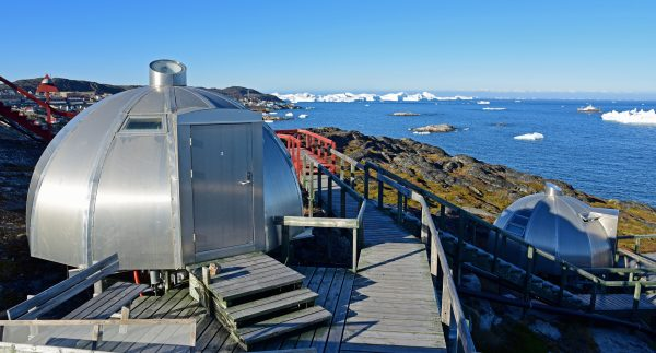Ein 'Iglu', Arctic Hotel Ilulissat