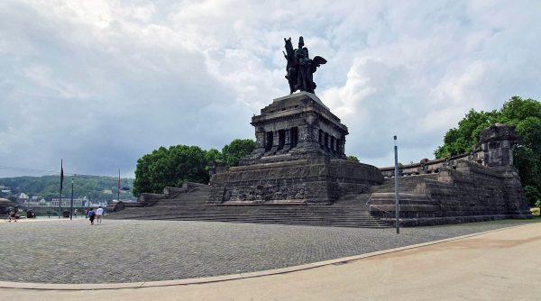 'Deutsches Eck' in Koblenz