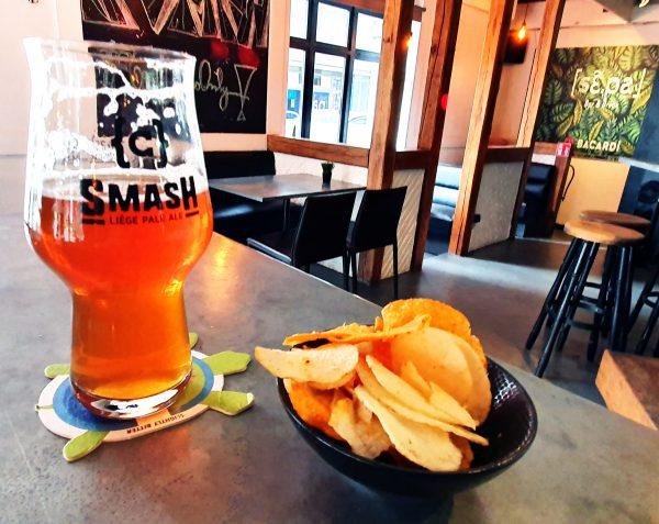 Smash Liège Pale Ale in Lüttich in Belgien