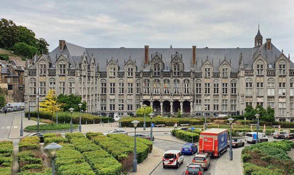 Der Fürstbischöflicher Palast in Lüttich
