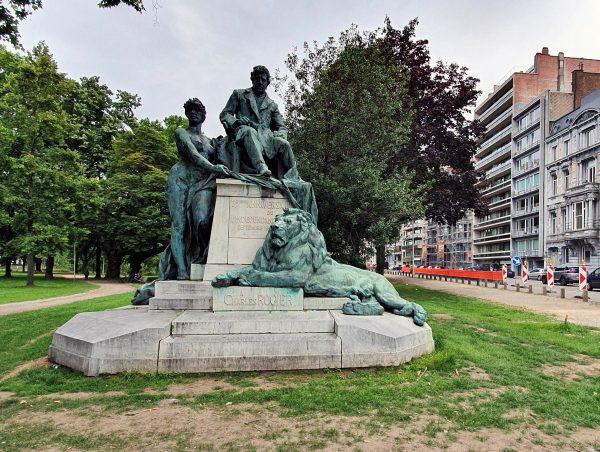 Das Monument de Charles Rogier in Lüttich