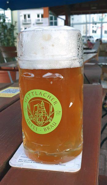 Bier von der Mettlacher Abtei-Bräu