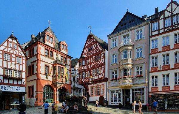 In der Altstadt von Bernkastel-Kues