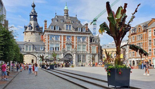 Der Place d'Armes in Namur