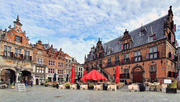 Der Grote Markt in Nijmegen