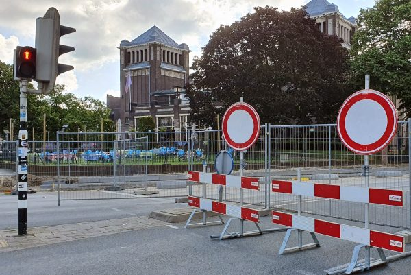 Ein merkwürdiger Ampelbetrieb in Nijmegen