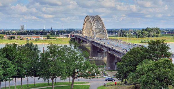 Blick auf die Waal in Nijmegen
