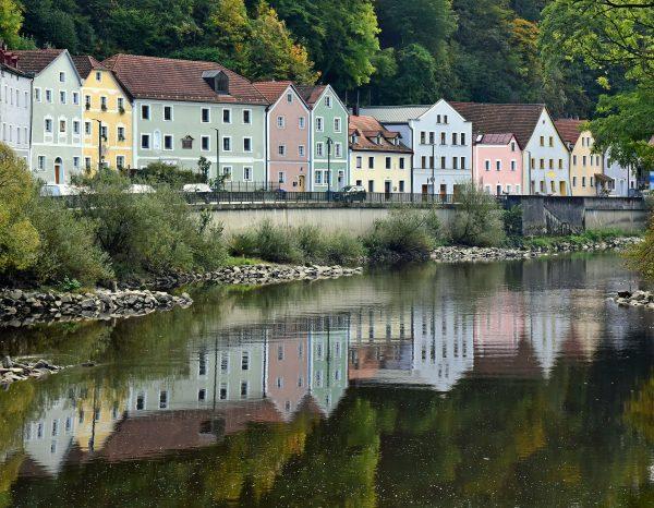 Die Ilz in Passau