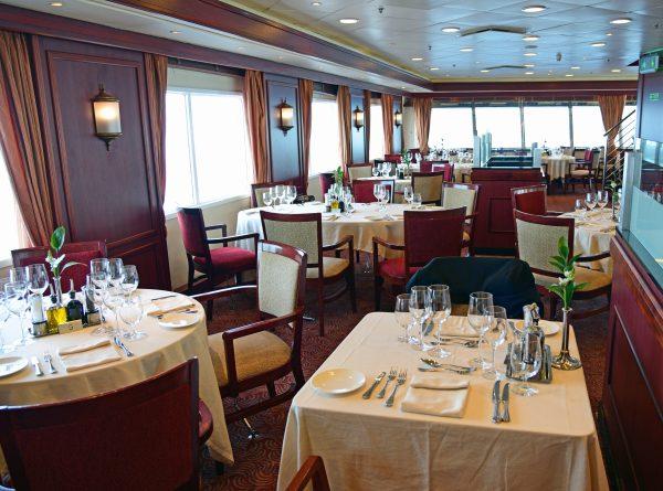 Das Restaurant auf der MS Silver Explorer
