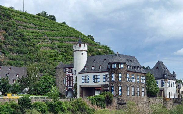 Die Oberburg in Gondorf