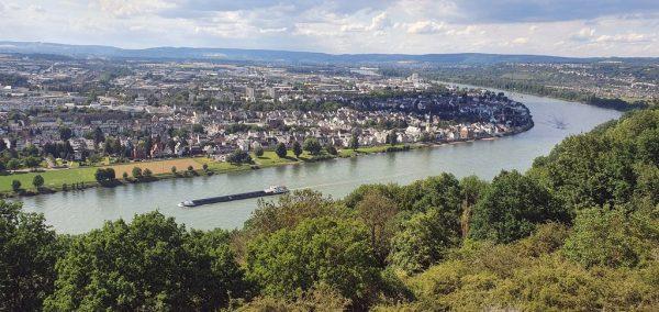 Blick auf Koblenz