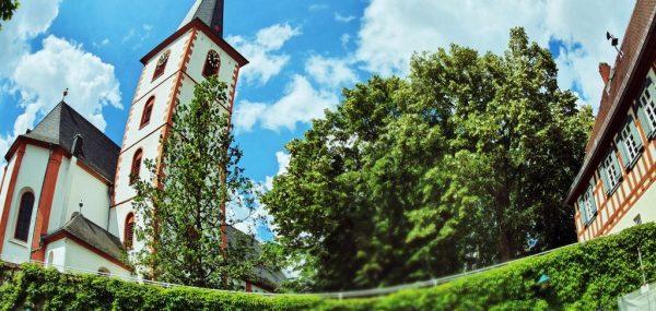 In der Altstadt von Hochheim