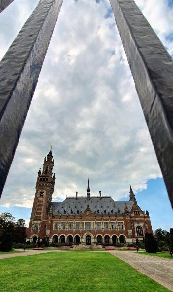 Der Friedenspalast in Den Haag