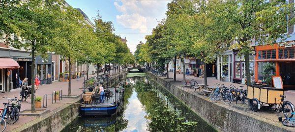 Ein Kanal in Delft
