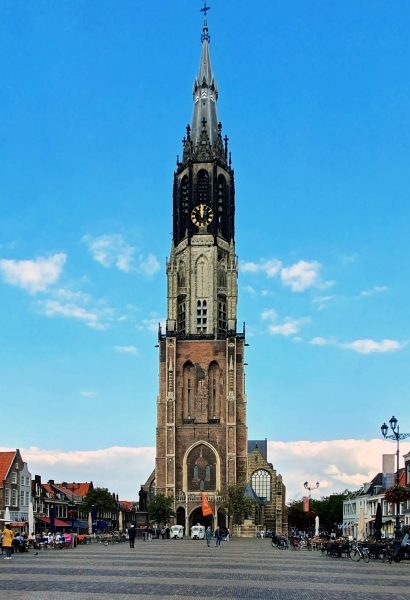 Die 'Nieuwe Kerk' in Delft