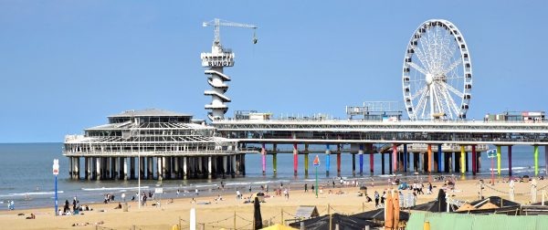 Die Pier von Scheveningen