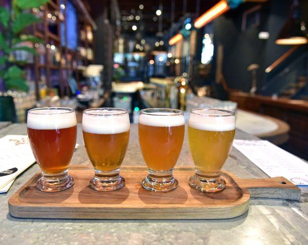 Bierprobe im Delfts Brouwhuis