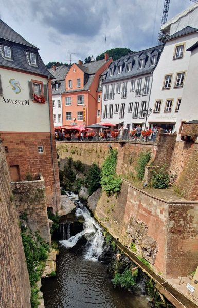 Der Wasserfall von Saarburg