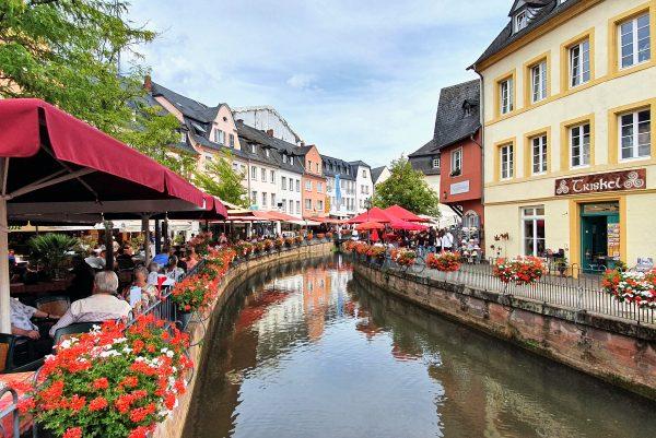 Der Buttermarkt in Saarburg