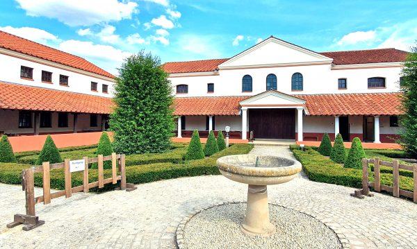 Das Herrenhaus der römische Villa Borg