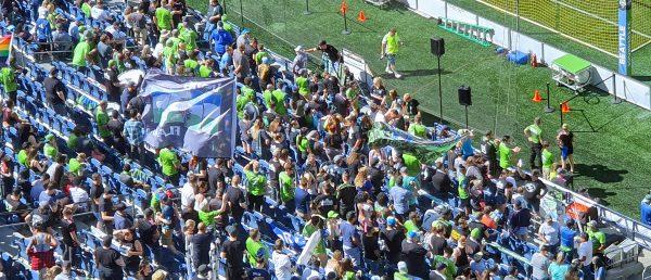 Fans der Seattle Sounders