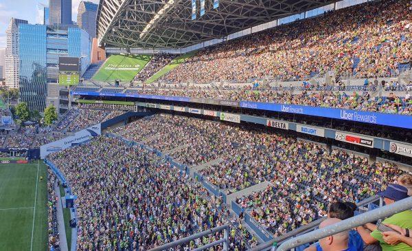 Zuschauer bei Seattle Sounders - Los Angeles Galaxy