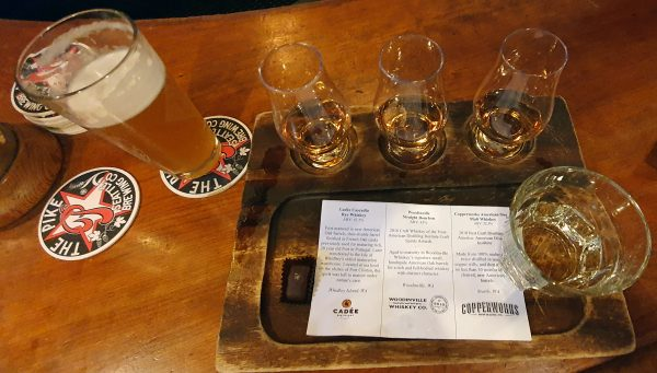 Whiskey Test in Seattle