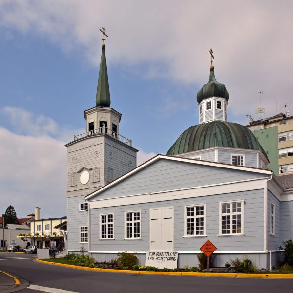 Cathedral of St. Michael the Archangel in Sitka