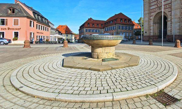 Der Domnapf in Speyer